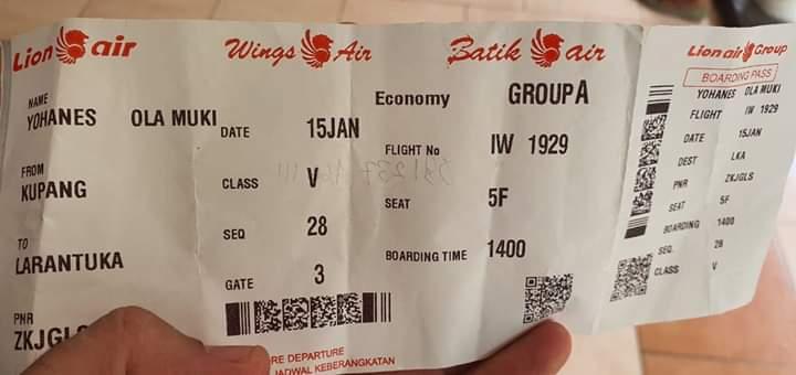 Penumpang Wings Air Meninggal di Bandara El – Tari
